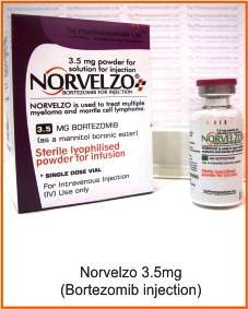 norvelzo (bortezomib 3.5mg injection)