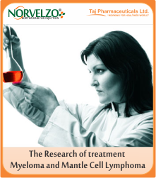 research, treat multiple myeloma and mantle cell lymphoma